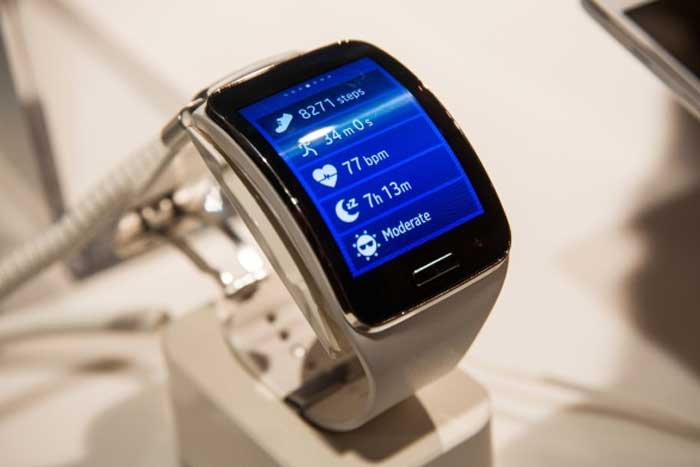 Flexible Wove Band Smartwatch