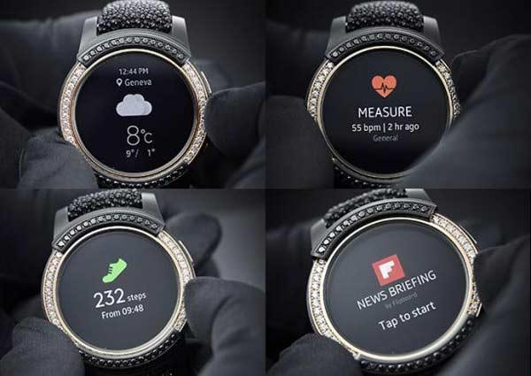 Interesting Feature in De Grisogono in Gear S2 Smartwatch
