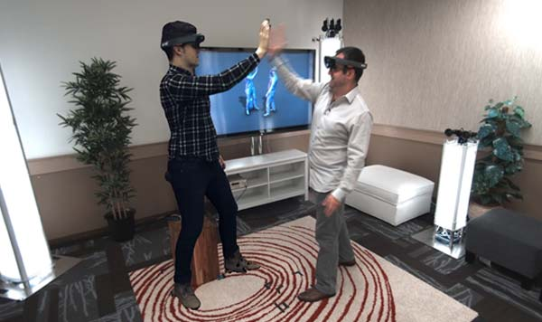 Holoport Field of View