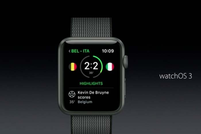 Apple Watch OS3