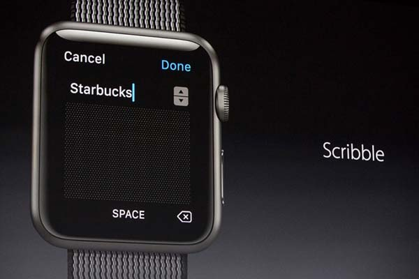 Watch OS3s Scribble