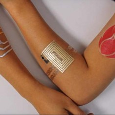 DuoSkin Temp Tattoo for Controlling Gadget