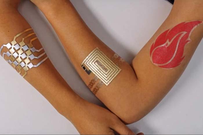 DuoSkin Temp Tattoo for Controlling Gadget