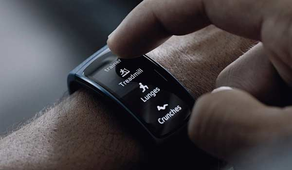 Using a fitness tracker