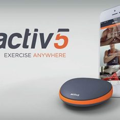 Portable Activbody Activ5 Workout Exercise Anywhere Device