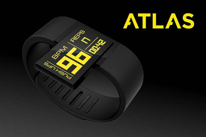Atlas Wrist Wearable Fitness Tracker