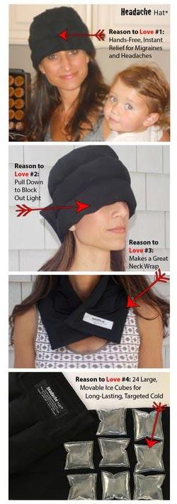 Benefits of The Headache Halo Hat