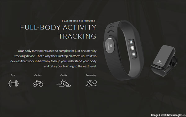Biostrap Biometric Fitness Tracker