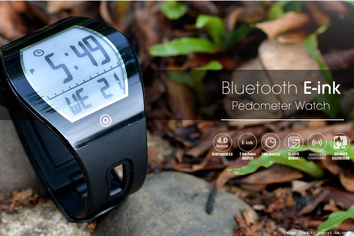 Bluetooth Eink Watch