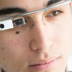 Google Glass With Micro-LED Display