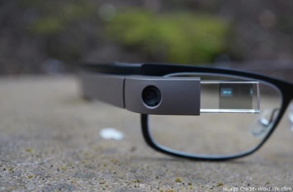 Google Glass With Micro-LED